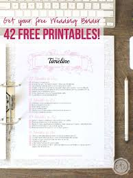 free wedding planner binder how to put together your free wedding binder 42 free
