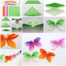 creative ideas diy easy folded paper snowflake ornaments