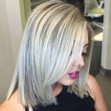 white hair with black lowlights 40 hair сolor ideas with white and platinum blonde hair