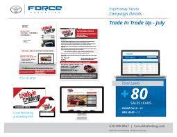 toyota web page force marketing expressway toyota