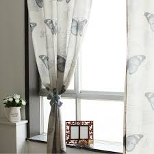 Door Curtains Modern And Special Butterfly Patterns Windows Or Door Curtains