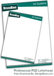 letterhead templates free download