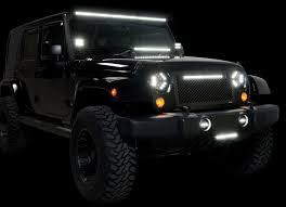 jeep liberty light bar putco luminix led light bar curved u0026 straight