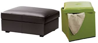 Kivik Ottoman Clean Up The Clutter With Dual Purpose Furnishings