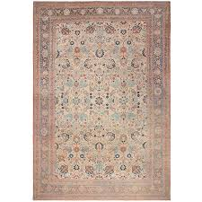 Antique Oriental Rugs For Sale Antique Persian Haji Jalili Tabriz Rug For Sale At 1stdibs