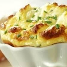 cuisine au fromage recette soufflé au fromage blanc et à la ciboulette