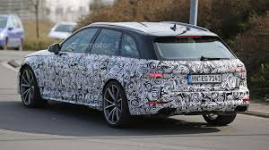 2018 audi rs4 avant is getting ready for production line