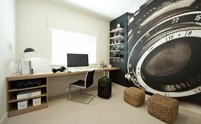 Beautiful Home Offices  Workspaces - Bedroom photography studio