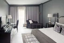 Black And White Bedroom With Color Accents 10 Of The Best Colors To Pair With Gray