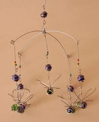 bumble bee home decor suncatcher bumble bee bead and recycled glass mobile handcrafted