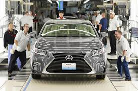 lexus ls video the first lexus ever made in the us rolled off the production line