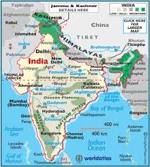 geography map india map geography of india map of india worldatlas com