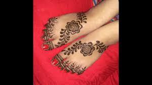 heena mehndi designs for foots legs 2017