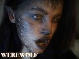 Halloween Werewolf Makeup Maquillaje De Carnaval Hombre Lobo Mujer Lobo Werewolf Makeup
