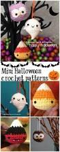 3 free mini halloween crochet patterns candy corn pattern baby