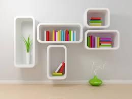 modern wall mounted bookshelves american hwy