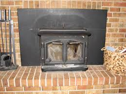 removing a fireplace insert fireplace
