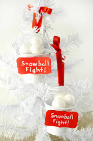 snowball fight ornament frugal mom eh