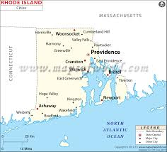 Rhode Island travel symbols images Cities in rhode island rhode island cities map jpg