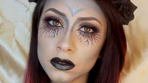 dark fairy halloween makeup youtube