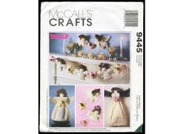christmas angel craft pattern tree topper garland wallhanging