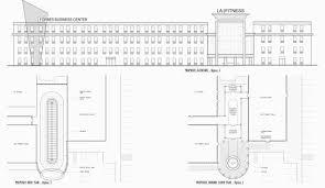 la fitness floor plan la fitness dsh design group