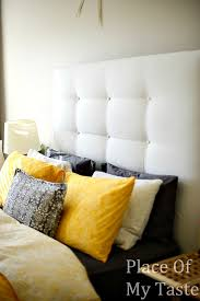 White Cushioned Headboard by Fresh White Cushioned Headboard 64 On Upholstered Headboard With