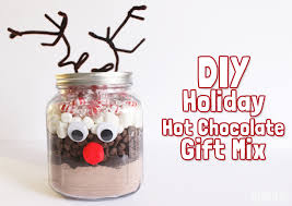 hot chocolate gift diy gift hot chocolate gift mix gublife
