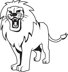 imagenes de leones salvajes gratis dibujos de leones salvajes para imprimir y pintar colorear imágenes