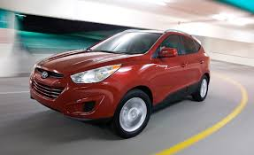 2010 hyundai tucson gls awd u2013 instrumented test u2013 car and driver