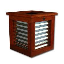 Redwood Planter Boxes by 2x2 Redwood Planter Box Rosie The Riveter Planter Box