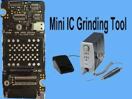 minil manual ic chip grinding tool for iphone mainboard nand flash