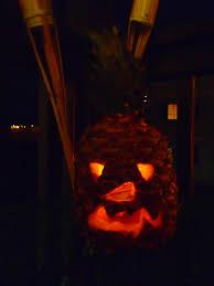 tiki pumpkin carving ideas tiki time carved pineapples u2013 aquaberry bliss