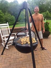 Cowboy Grill And Fire Pit by Cowboy Cauldron Bbq U0026 Fire Pits Dudeiwantthat Com