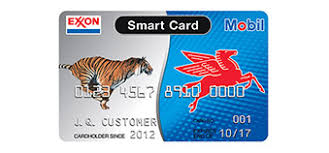 personal gas credit cards from exxonmobil exxon and mobil