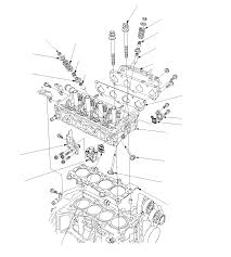 cylinder head assembly component location index except diesel
