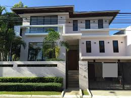 Modern Houses For Sale Elevated Modern House For Sale In Bf Homes Brand New