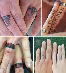 tattoo wedding rings u2013 jewelry secrets