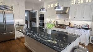 grey kitchen units with black granite worktops black granite 30 popular styles for 2021 marble