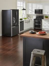 white kitchen cabinets and black stainless steel appliances 3 ways to introduce black stainless steel to your kitchen