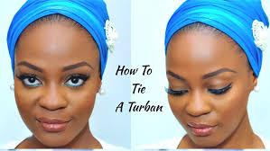 video tutorial turban style how to tie a nigerian turban tutorial omobola missglam youtube