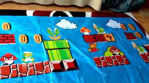 super mario bros diy home decor youtube
