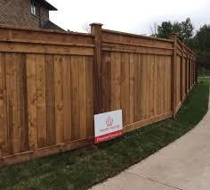 wood fencing installation u2022 pressure treated u0026 cedar fencing