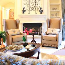 High Back Wing Chairs For Living Room High Back Wing Chair Living Room Traditional With Shari Misturak