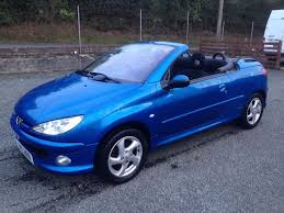 peugeot price 2004 peugeot 206 cc one year mot price 1190 ono px exch in