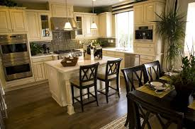 open kitchen design with island 39 fabulous eat in custom kitchen designs