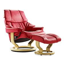 Recliner With Ottoman Stressless Reno Small Recliner U0026 Ottoman From 2 795 00 By