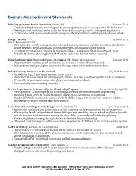 resume exles college students applying internships in washington undergraduate student resume collection