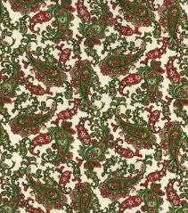 Bed Sheets For Summer Men U0027s Journal Maker U0027s Holiday Paisley Osnaburg Cotton Fabric 44 U0027 Joann