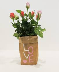 Blumen Bade Diy Papiertüte Als Vasendeko Anleitung Und Gestaltungsideen